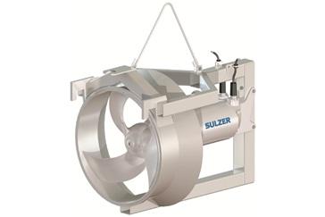 Agitadores sumergibles para plantas de tratamiento de agua potable/residual.