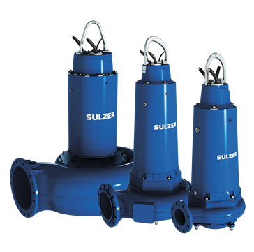 Submersible pumps for water / wastewater treatment plants.