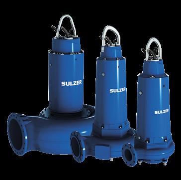 Bombas sumergibles para plantas de tratamientos de agua potable/residual.