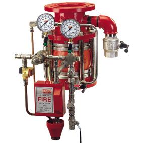 Válvulas de regulacion de presión y caudal para sistemas de protección contra incendios