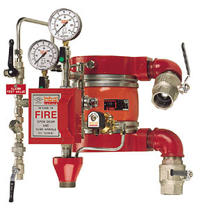 Deluge Valve for fire systems
