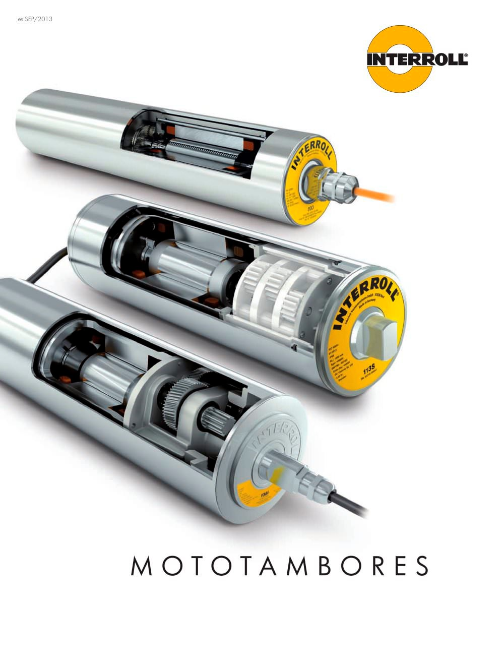 (Español) Mototambores, rodillos transporte, almacenes inteligentes